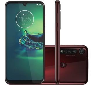 Motorola G8 Plus 64gb Cereja Frete Gratis E 12x S/ Juros