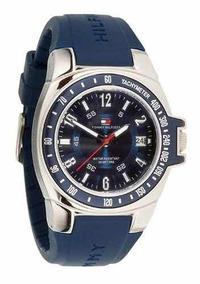 Relógio Tommy Hilfiger Men 1790483 Blue Rubber