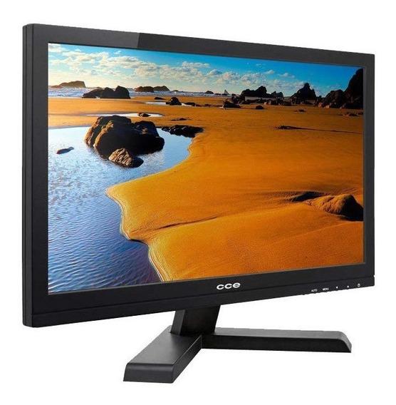 Monitor 15,6 Led Hd Cce Mc1501 Widescreen, Vga - Garantia!