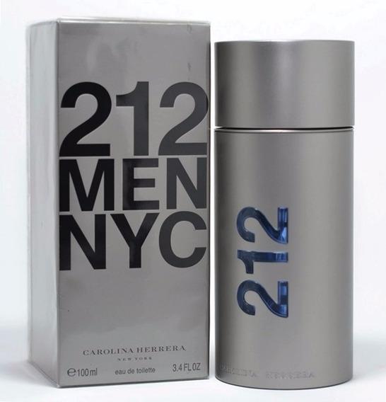 Perfume 212 Men 100ml Carolina Herrera 100% Original
