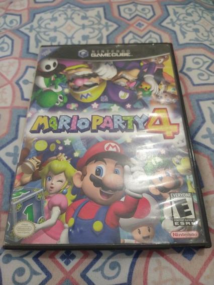 Mario Party 4 Ngc Completo Game Cube Nintendo Original