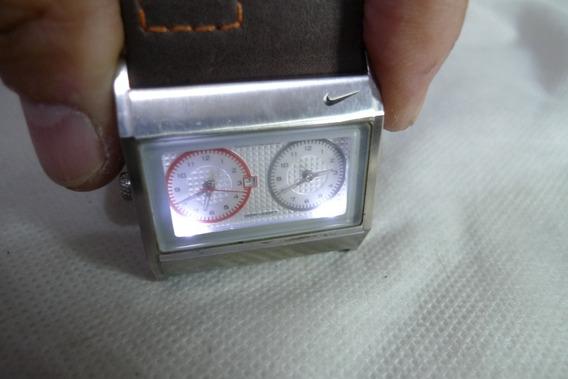 Relógio Nike Mod Wa0054 Duas Máquinas Leia -technos-citizen-