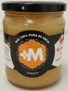 Miel Cruda 100% Pura De Abeja Multiflora De Oaxaca, 590 G