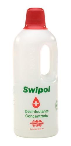 Desinfectante Antibacterial Concentrado Swipol Swipe 1 Litro