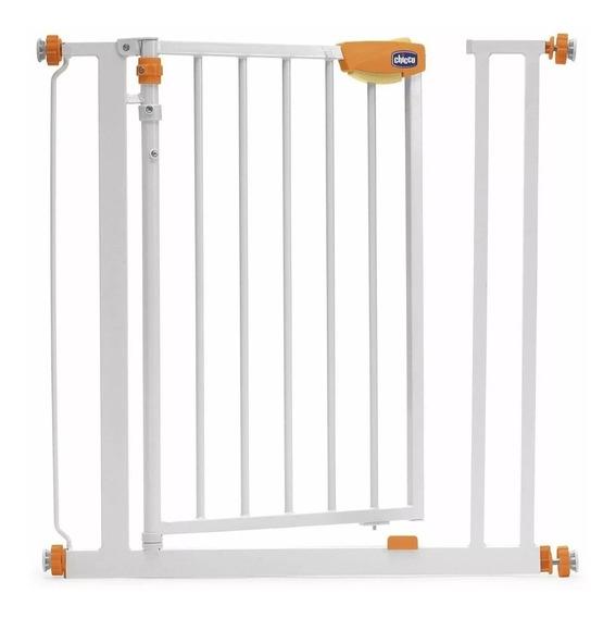 Puerta De Seguridad Barrera Metalica Chicco En Creciendo