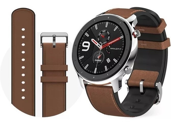 Relogio Smartwatch Xiaomi Amazfit Gtr-47mm Steel (a1902) Ori