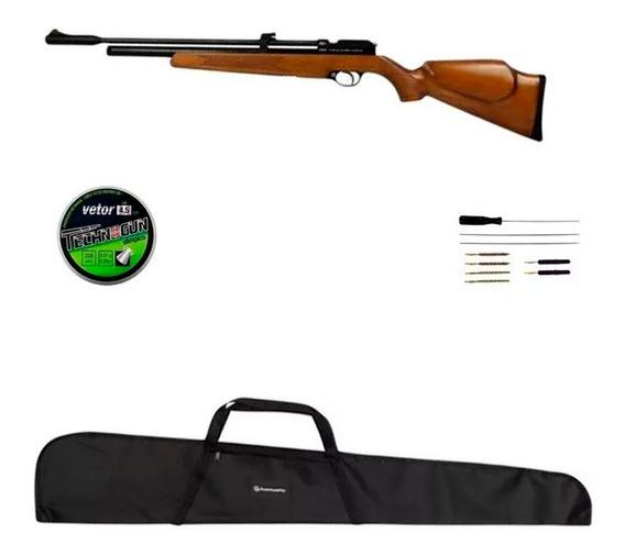 Carabina Pressão Pr900w Pcp 4.5mm Acessórios + Kit Limpeza