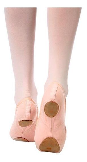 Zapatillas De Lona Stretch Color Piel