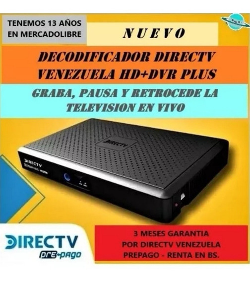 Decodificador Directv 500gb