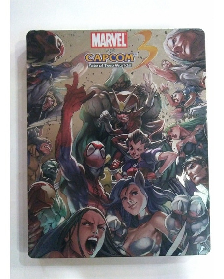 Jogo Marvel Vs Capcom 3 Fate Two Worlds Steelbook Ps3 R$99,9