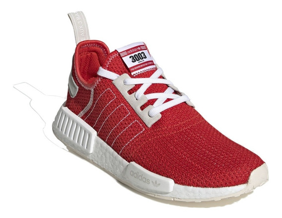 Tenis adidas Originals Nmd All Red Deluxe 2020 Especial