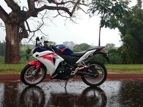 Moto Honda Cbr 250r - Azul 2012