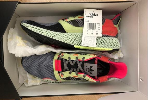 Tênis adidas Zx 4000 4d Grey Three Sneakers- Tam 42br