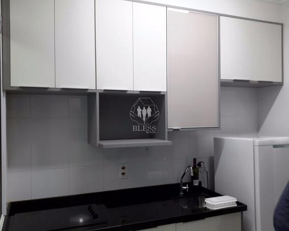 Apartamento Para Venda Centro, Jundiaí 1 Dormitório Com Armário Sendo 1 Suíte, Sala Para 2 Ambientes, Cozinha Americana Com Armários, Geladeira, Fogã - Ap01719 - 32645540