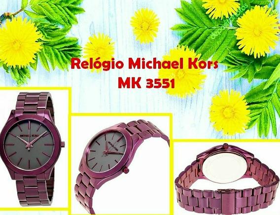 Relógio Michael Kors Modelo Mk3551