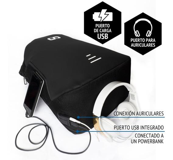 Mochila Con Usb Urbana Anti-robo Porta Notebook Sportpark®