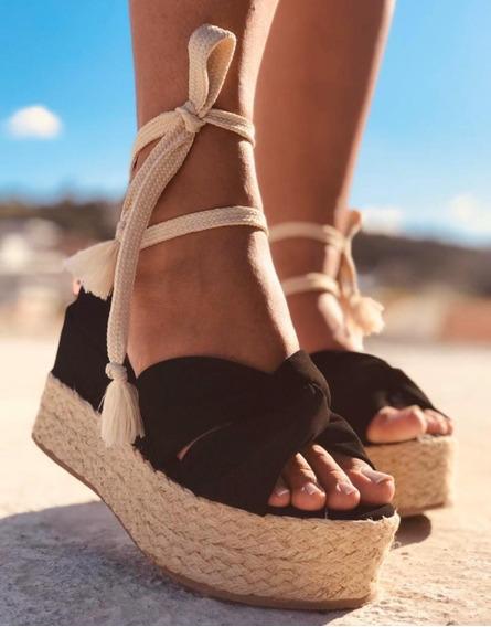 Sapato Feminina Salto Anabela Alto Grosso Tratorada !