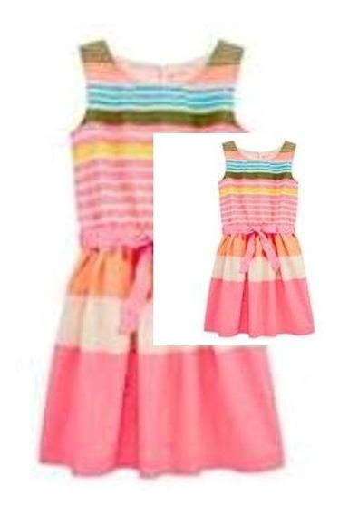 Vestido Arizona Importado Niña Talle Xl - 5345