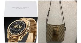 Relogio Original Smartwatch Michael Kors Mkt5026 + Bolsa Mk