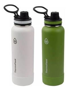Thermoflask Set De 2 Botellas Térmicas De Acero Inoxidable