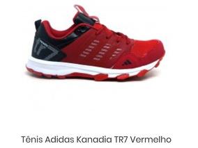 Tenis adidas Kanadia Tr7 Vermelho