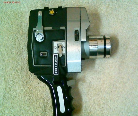 Filmadora Antigua Bell & Howell Super 8