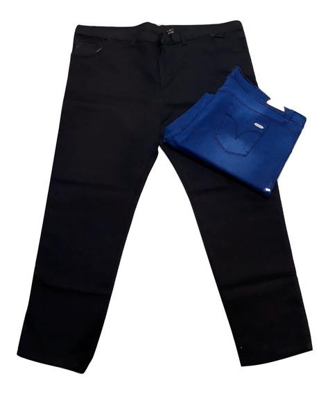 Jeans Elastizado Hombre Talle Especial Del 60 Al 70