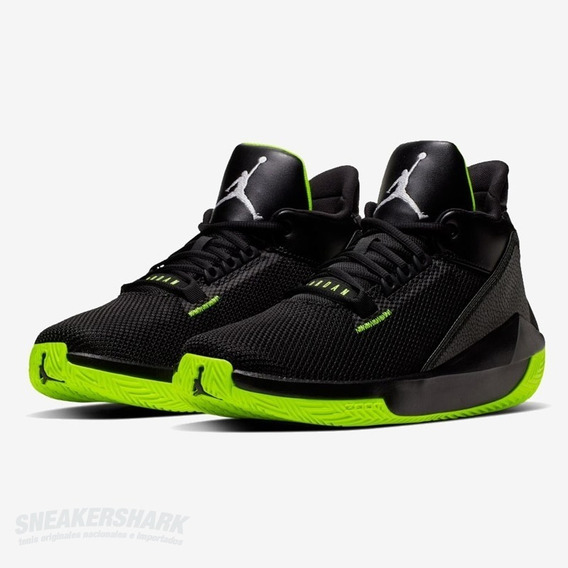 Jordan 2x3 Black Volt Sneakershark