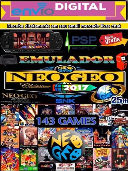 Emulador De Neo Geo Psp + Brindes Envio Digital