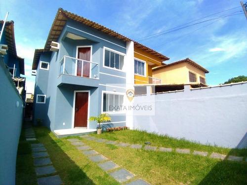 Imagem 1 de 24 de Casa Duplex 3 Quartos, Meio Terreno, Jardim Bela Vista/ Região De Costazul! - Ca1267