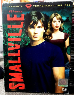 Smallville - La Cuarta Temporada (2006) 6 Dvds