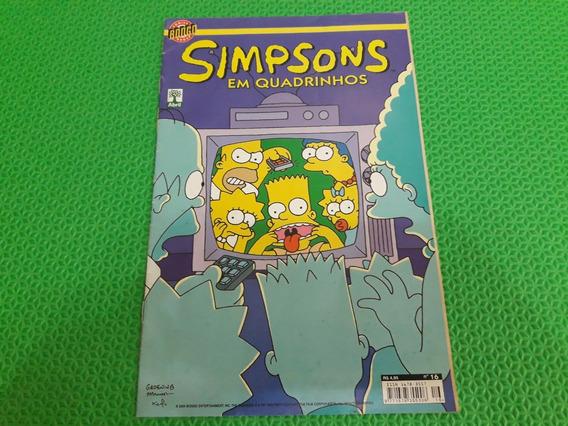 Revista Simpsons Em Quadrinhos Número 16 Antigo E Raro
