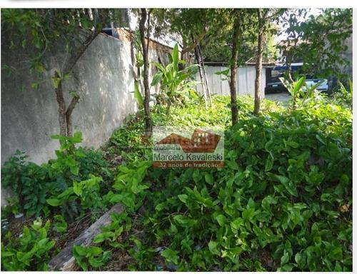 Terreno À Venda, 110 M² Por R$ 1.000.000,00 - Vila Santo Estéfano - São Paulo/sp - Te0166