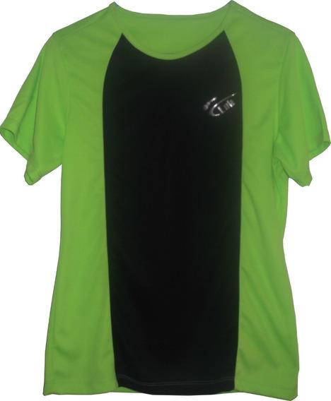 Camiseta Deportiva Mujer / Dama Verde Limon