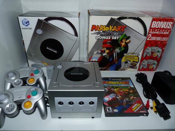 Nintendo Game Cube Edição Mario Kart Double Dash Na Caixa