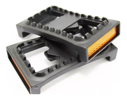 Imagen 1 de 6 de Plataforma Base Platica Para Pedales Automaticos Shimano