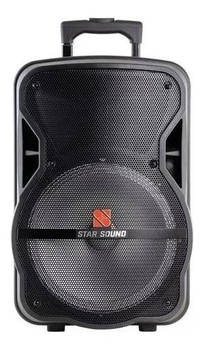 Caixa Ativa Acustica Star Sound By Staner Ss120 + Microfone
