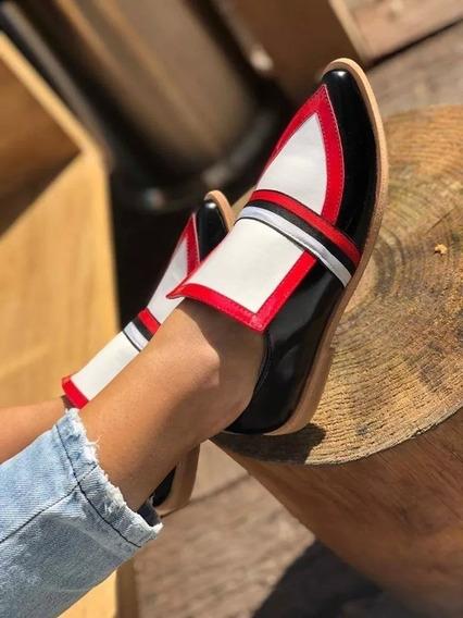 Zapatos Mujer Bajos Art Luanda Zona Zapatos