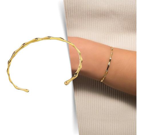Imagem 1 de 5 de Bracelete Ceci - Dourado