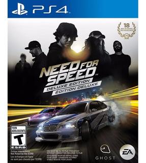 Need For Speed Deluxe + Kof 2000 Ps4 Grom