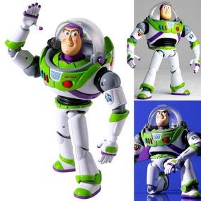 Toy Story Buzz Lightyear Woody Revoltech Light Boneco Buz
