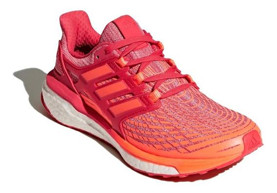 Zapatilla adidas Running Mujer Energy Boost Naranja/rojo Ras