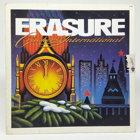 Lp Erasure Crackers Internacional Stop! Disco De Vinil 1989