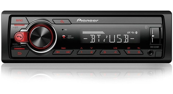Radio Auto Pioneer Mvh-218bt Bluetooth Mp3