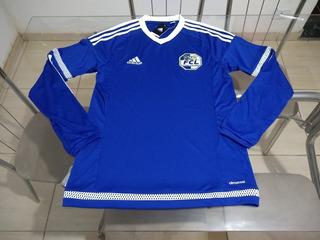 Camisa Oficial Manga Longa adidas Time Futebol Luzern Suíça