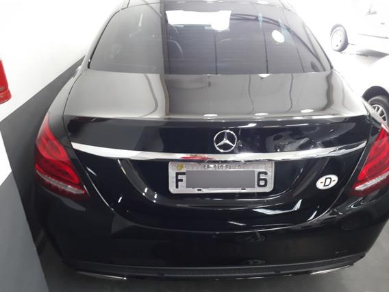 Mercedes C250 2.0 Sport Preta 2015