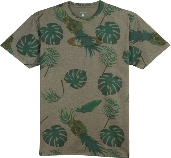 Remera Oakley Tropical Big Pattern Tee