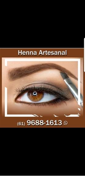 Henna Artesanal Para Sobrancelhas.