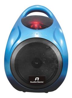 Parlante Portátil Bafle Audio Sonic Usb Bluetooth Aux Oferta