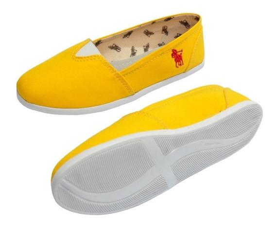 Sapatilha Alpargata Unissex Mule Polo Sapato Para Viagem Voo